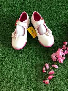 White Ribbon Shoes