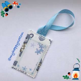Fabric Luggage Tag