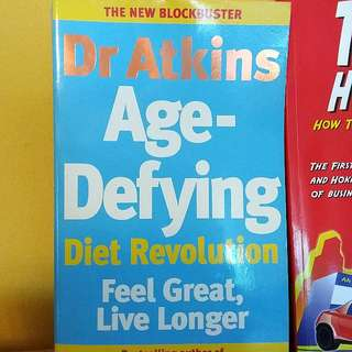 Age Defying Diet Revolution by Dr Atkins Book