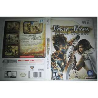 Wii game disc: Prince of Persia, Rival Swords . for NTSC console