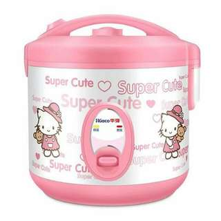 Hello kitty mini rice cooker