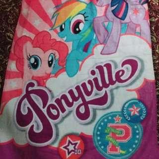 My little pony bath towel