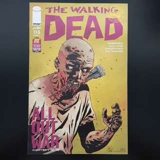 The Walking Dead #115 NYCC Preview Exclusive