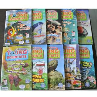 Year 2017 Young Scientist Level 3  10 issues