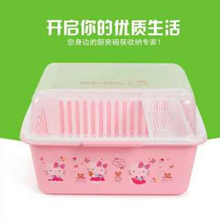 Hello Kitty Plate Dispenser