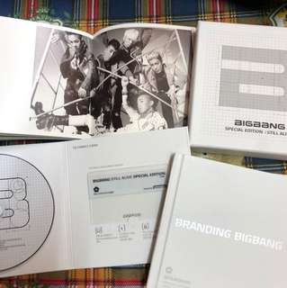 Big Bang 絕版special edition CD