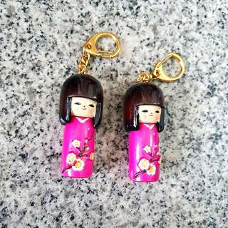 Geisha Keychains & handphone strap
