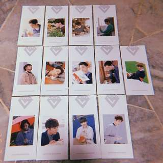 Seventeen Love Letter Bookmark (Korean press)