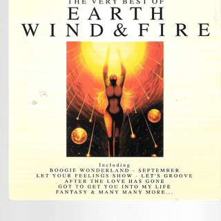 MY PRELOVED CD - EARTH WIND AND FIRE - THE VERY BESOF / FREE DELIVERY /(F7K)