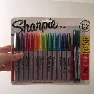 Sharpie 12ct + 2 bonus