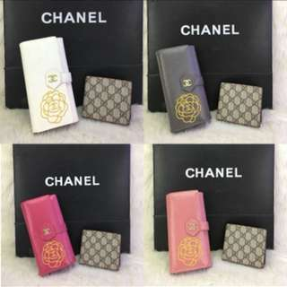 2 in 1 CHANEL GUCCI Purse Set (FREE POSTAGE)