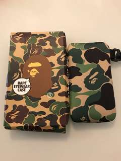 A Bathing Ape BAPE eyewear case 猿人眼鏡袋