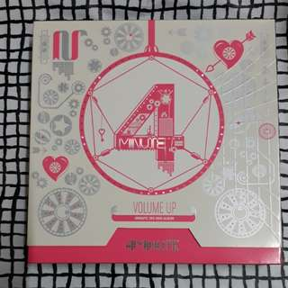 4minute Volume Up Album