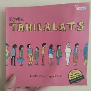 Buku/Komik Tahilalats karya nurfadli mursyid