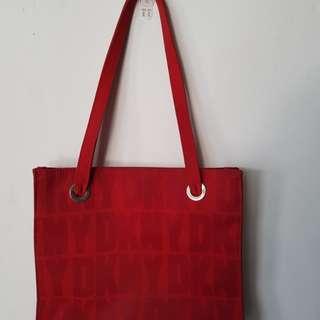 DKNY Red Handbag