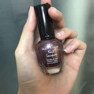 Modern Wine KleanColor nail polish