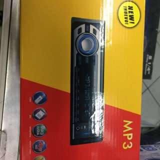 1DIN USB/BT Car Stereo