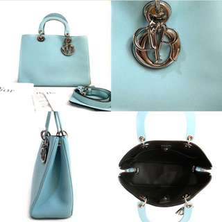 Dior Diorssimo Small Tiffany Blue