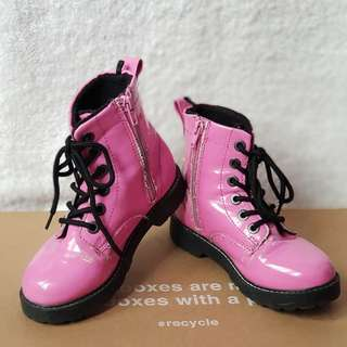 H&M pink boots