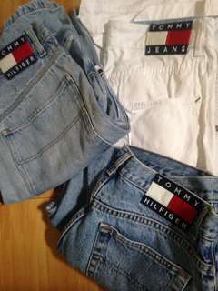 Authentic tommy hilfger shorts and pants