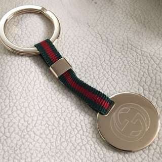 全新 GUCCI GG Loop Gold plated Keyring(不議價 fixed price)