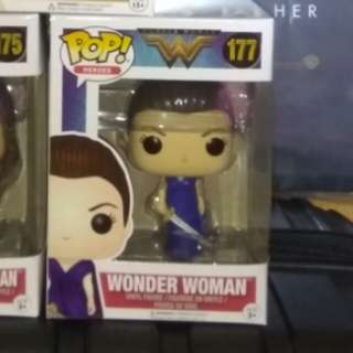 [PRE-ORDER] Wonder Woman Blue Dress Funko Pop