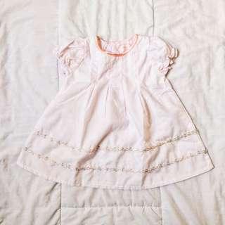 Light pink dress 3-6m