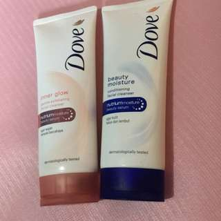 PRELOVED! Bundle Facial Cleanser Dove
