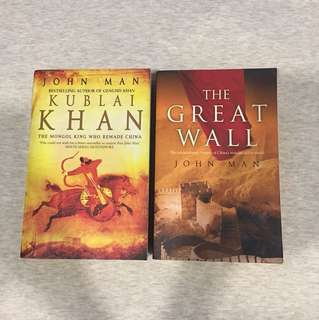 Kublai khan and The Great Wall