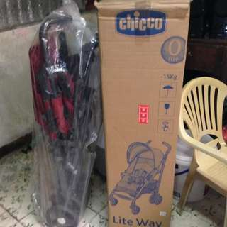 Chicco Liteway Red Stroller