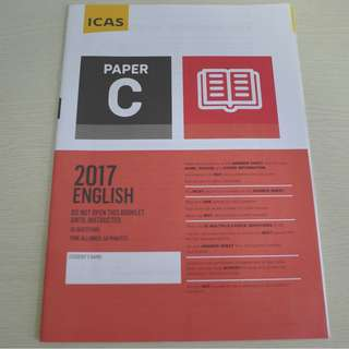 UNSW Australia ICAS Paper C (Primary 4) English Year 2017