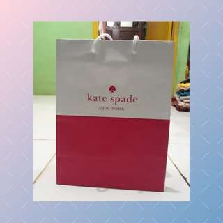 Paper bag Kate Spade (free ongkir jabodetabek)
