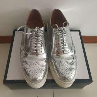 Authentic Preloved Jeffrey Campbell Oxford Platform shoes