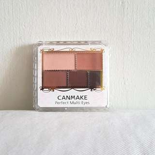 Canmake Perfect Multi Eyes Shadow Palette No.1
