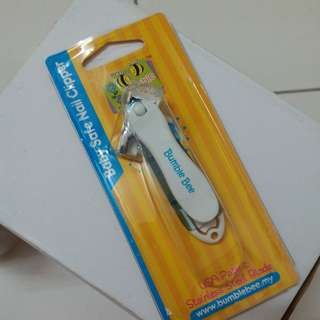 Baby safe nail clipper/cutter