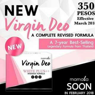 💕The new virgin deo( mamala)