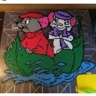 Hama beads design disney the rescuers