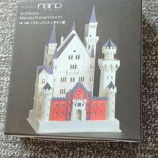 3D DIY Paper Nano - Schloss Neuschwanstein Castle