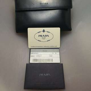 PRICE DROP Authentic Prada Wallet