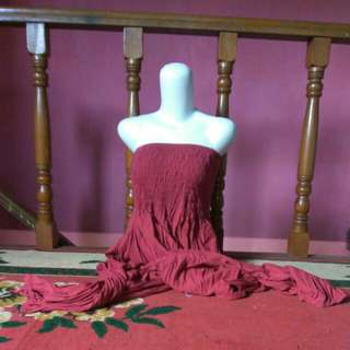 jumpsuit red all size