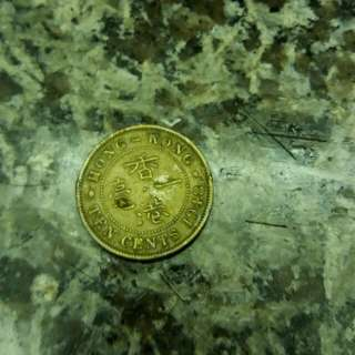 1948年公仔頭1毫