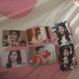 Momo sana twice專輯卡 yes card