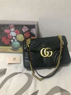 GUCCI BLACK MARMONT