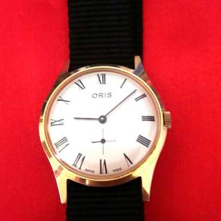 Vintages ORIS Slim Wrist Watch Mint Condition