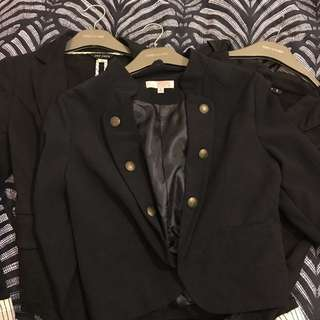 3 blazers for $20