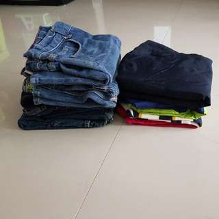Bundle Clothings For Boys - 4-6yrs old