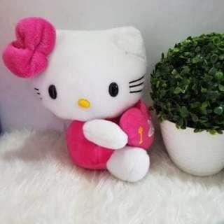 Boneka hello kitty i love u