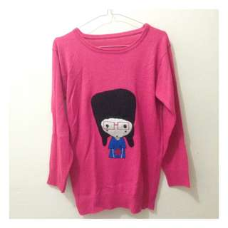 Pinky girl motif high quality