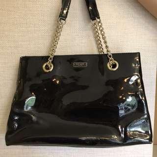 Pre-loved Kate spade patent shoulder bag