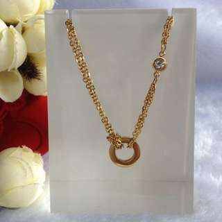 Bangkok Gold 10k Round Center Chain Necklace Not Pawnable